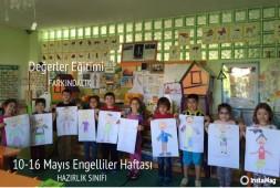 10-16 MAYIS ENGELLİLER HAFTASI